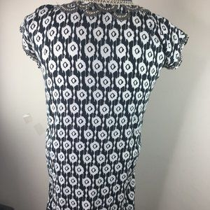 Anthropologie Dresses - Skemo Kids Ikat Short Kaftan Black